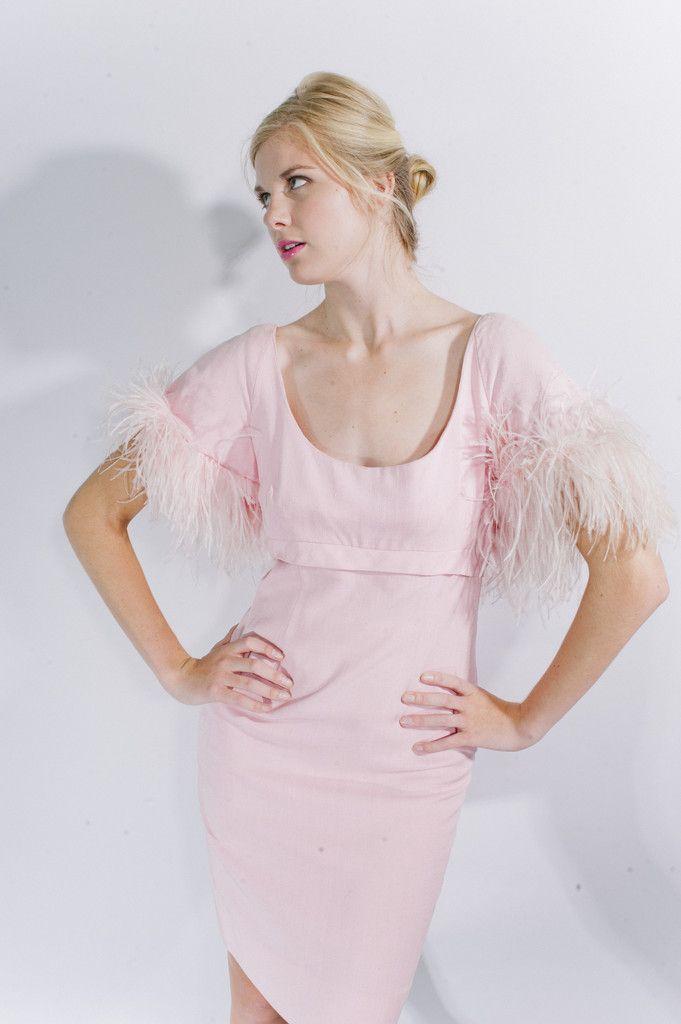 1960s Vintage Harou Pink Dress