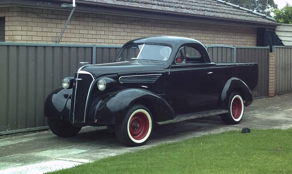 1937 Chev Master Deluxe Coupe Ute.   Chevs in Australia ...