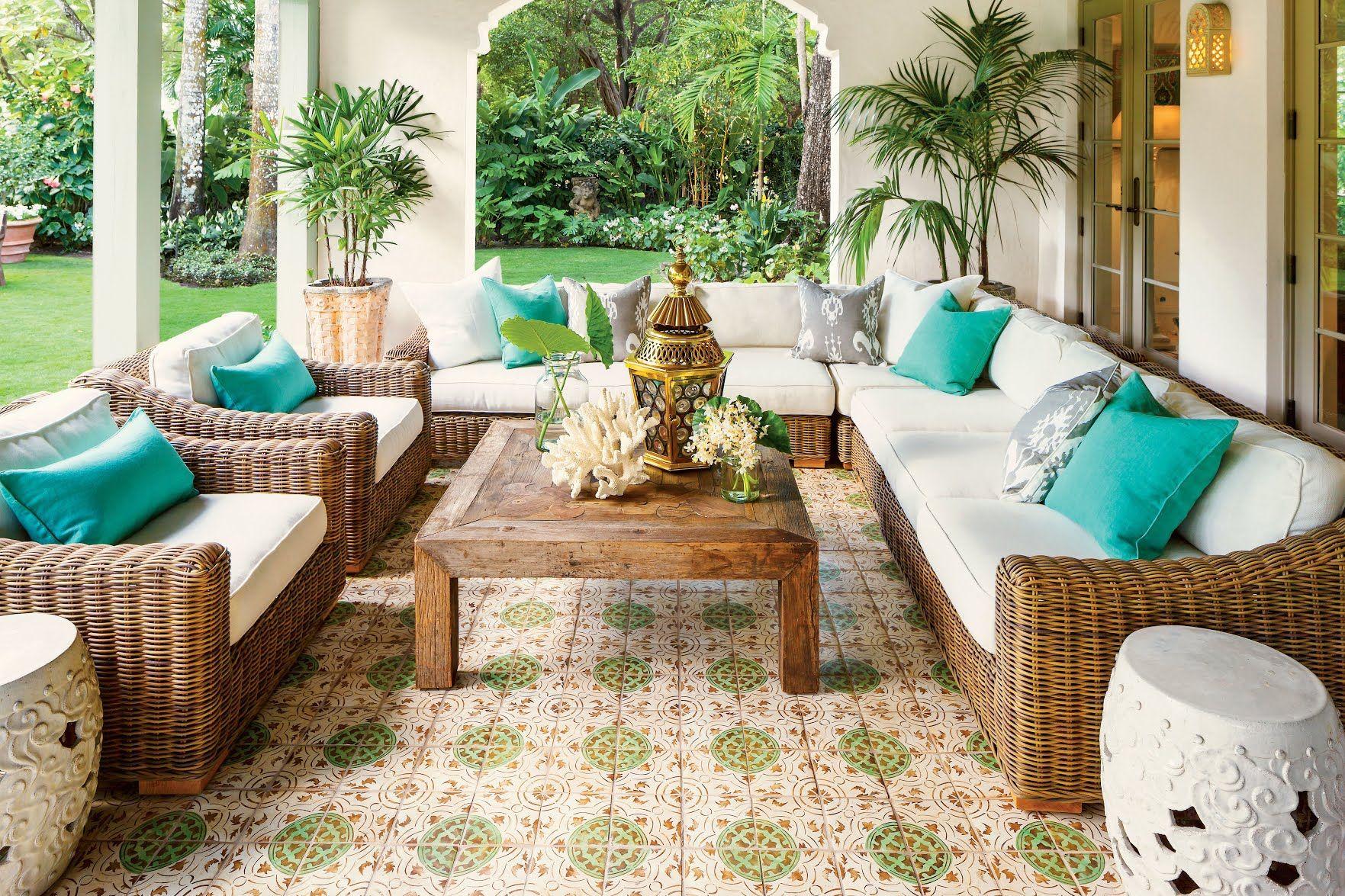 Spanish-Style Luxurious Loggia | Coral Gables | Pinterest | Vida y ...