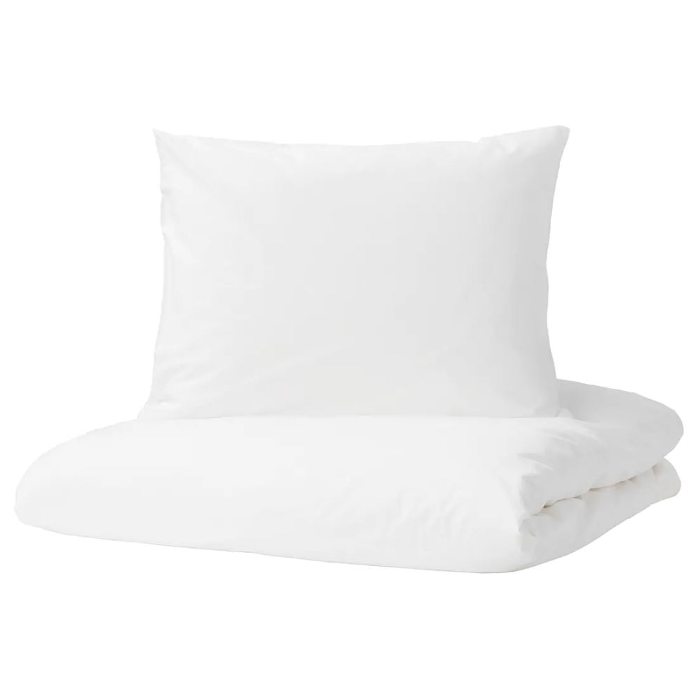 Dvala Komplet Poscieli Bialy 200x200 50x60 Cm Cushions Ikea Ikea Ikea Toddler Bed