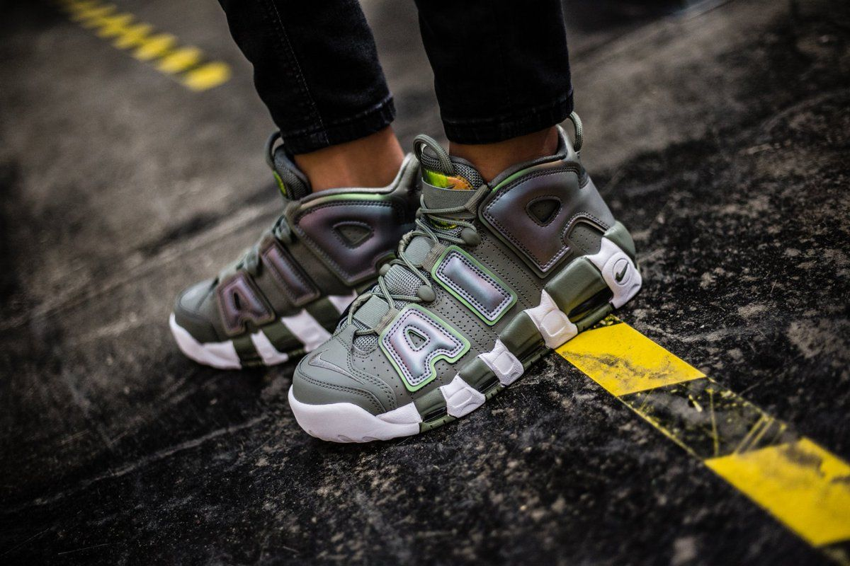 7db0d0e363 Nike Air More Uptempo Iridescent Dark Stucco 917593-001 | Nike Shoes ...