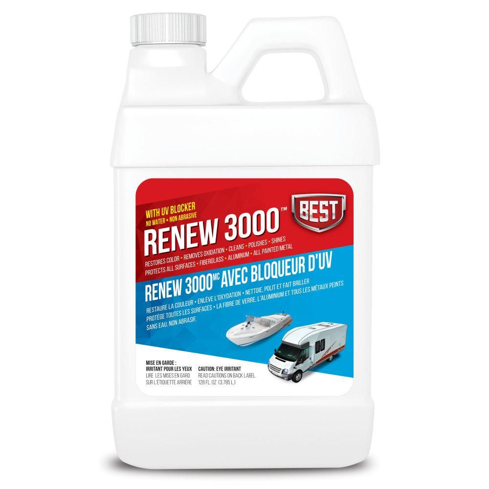 3000 Oz To 128 Oz Renew 57128 The Home Depot In 2020 Roof Cleaning Cool Car Accessories Roof