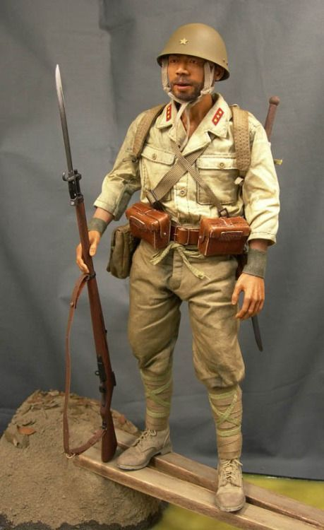 3R DID 1//6 WWII Armée Impériale Japonaise 32nd ARMY 24th Division Private Hayashi