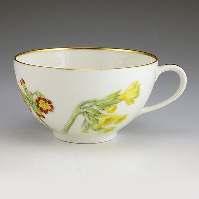 Russian Grand Duchess Olga Alexandrovna Hand Painted Porcelain Cup