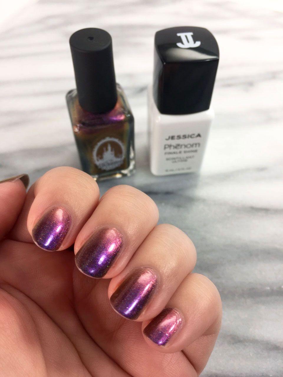 Cruelty free holo nail polish by enchanted polish holo