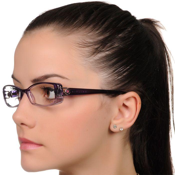 33e13fab9 Óculos de Grau Kipling Grande KP3012 Roxo Degradê Cristal Feminino Acetato  - Oculosweb.com