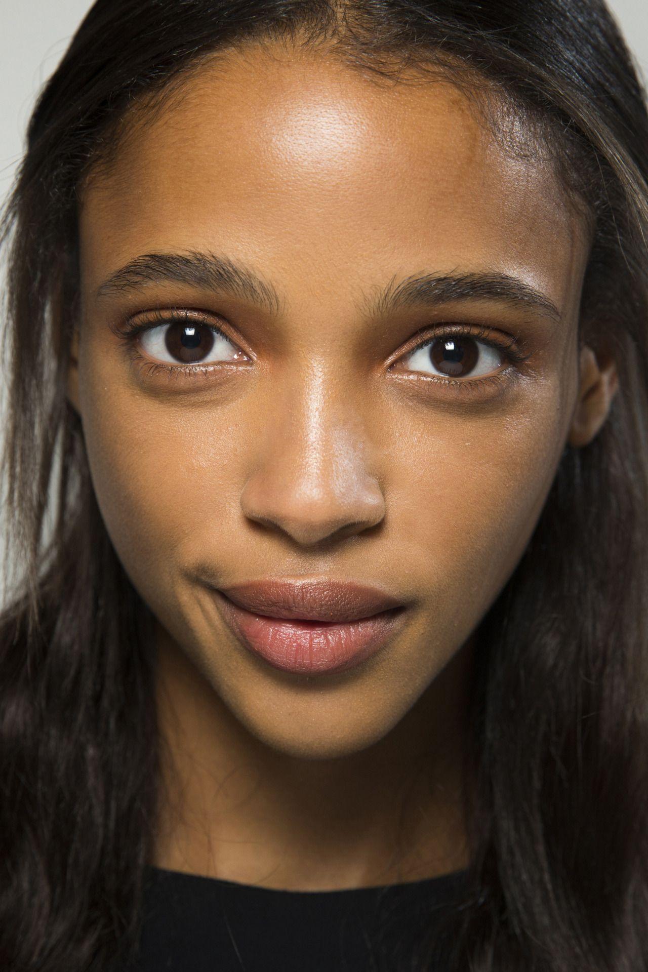 "runwayandbeauty "" Aya Jones Beauty at Altuzarra Spring"