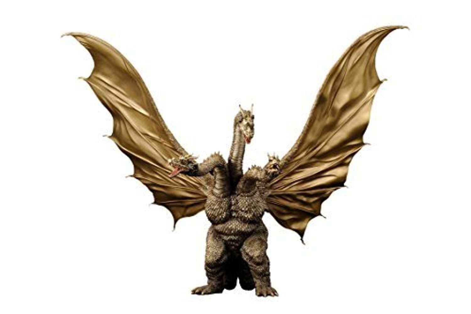 Toho Large Monsters Series King Ghidorah 1968 (PVC Pre-painted) by X-Plus -- Awesome products selected by Anna Churchill
