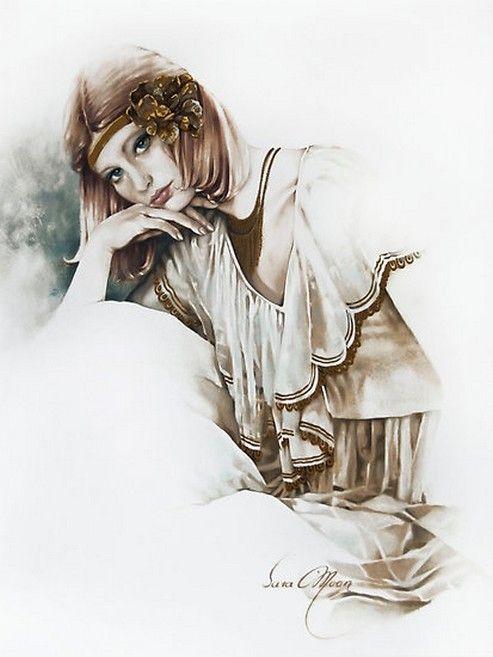 Sara Moon ~ Fashion painter   Tutt'Art@   Pittura * Scultura * Poesia * Musica  