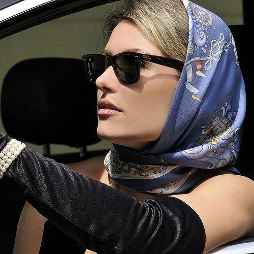 scarf silk satin gagged bound blindfold