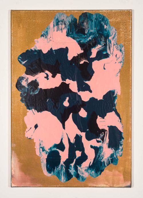 "shanetolbert: untitled, 2014, 26"" x 20"", acrylic on canvas"