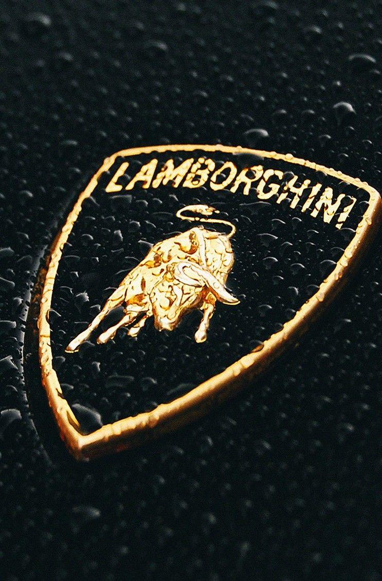 Lamborghini Logo Rain Drops Iphone 6 Wallpaper Wallpapers