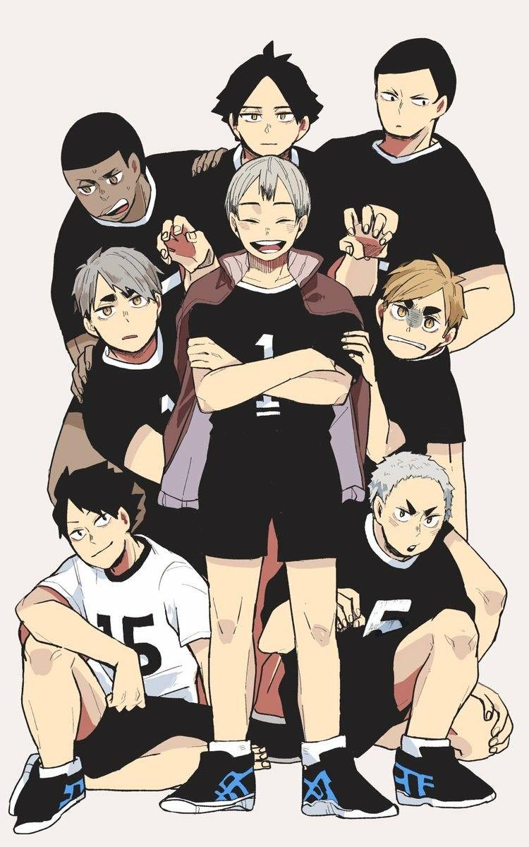 Haikyu Inarizaki Team Haikyuu Characters Haikyuu Haikyuu Anime