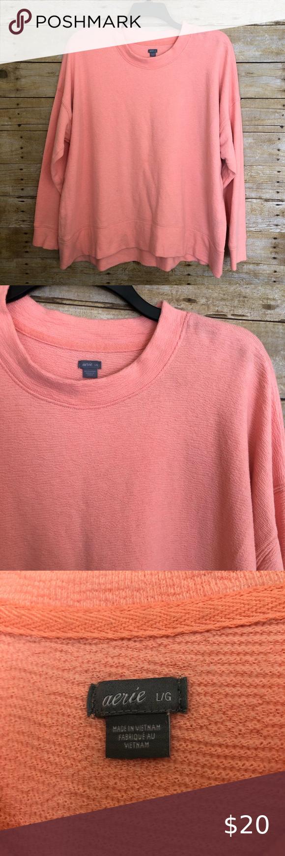 Aerie Peach Oversized Crew Neck Sweatshirt Women S Oversized Sweatshirt By Aerie This Peach Colored Sweatshirts Crewneck Sweatshirt Women Crew Neck Sweatshirt [ 1740 x 580 Pixel ]
