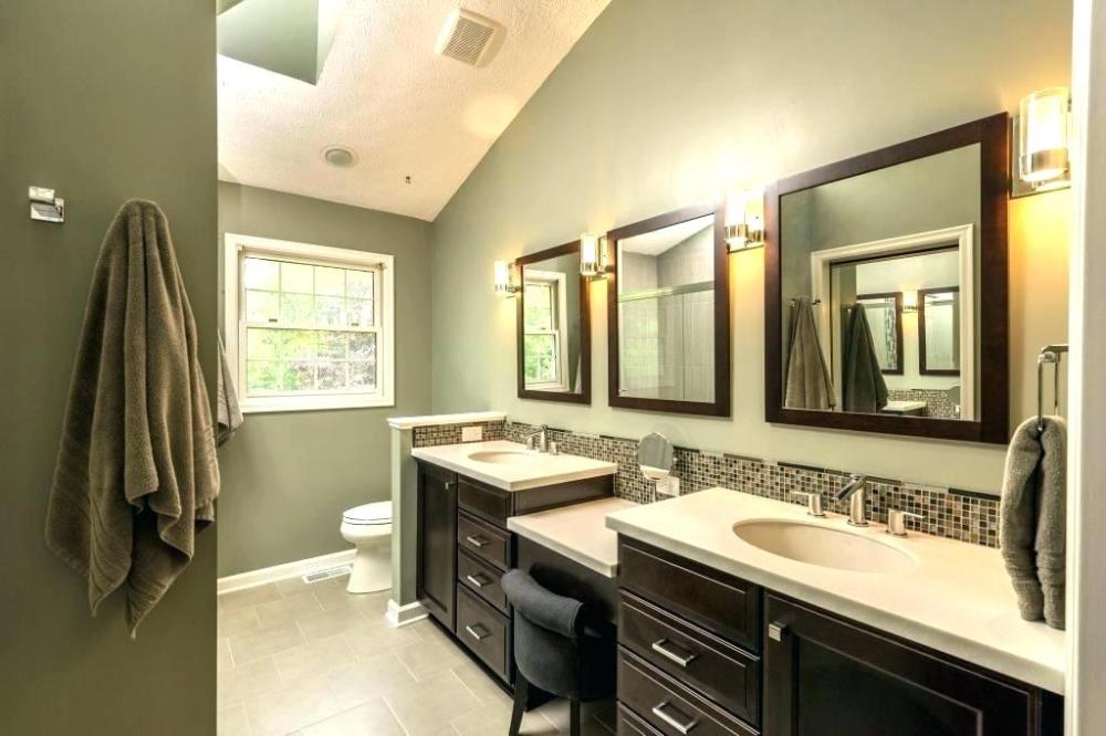 Master Bathroom Paint Colors Master Bedroom Bathroom Paint Colors Master Bedroom And Bathroom Color In 2020 Bathroom Color Schemes Bathroom Color Small Bathroom Paint