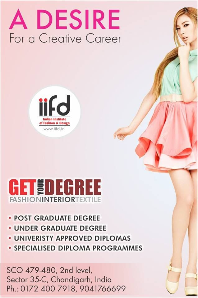 Do You Have Desire For A Creative Career Join The Best Institute Of Fashion Designing Get More Info Www Iifd In Iifd Cha Fashion Designing Institute Fashion Design Fashion Designing Course