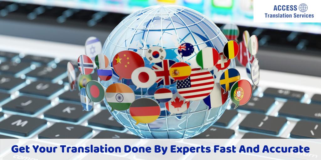 Don't be a victim of mistranslation, use professional