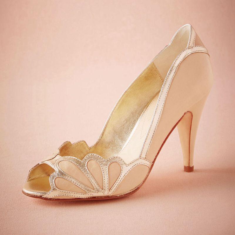 Wedding Shoes For Women Peep Toe Sandals Wedding