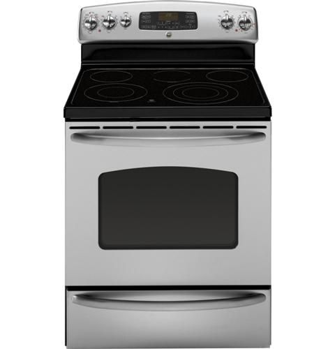 Jb705stss Ge 30 Free Standing Electric Range With Warming