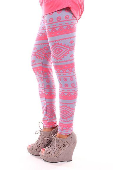 Lime Lush Boutique - Soft Aztec Leggings, $29.99 (http://www.limelush.com/soft-aztec-leggings/)