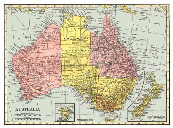 Australia Map In Europe.Vintage 1901 Map Of Europe Instant Download Digital Printable Old