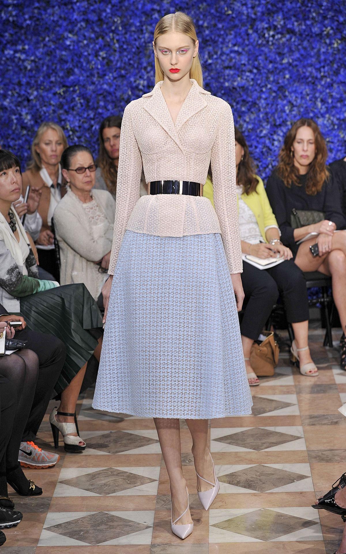Dior Couture Fall 2012, Paris.