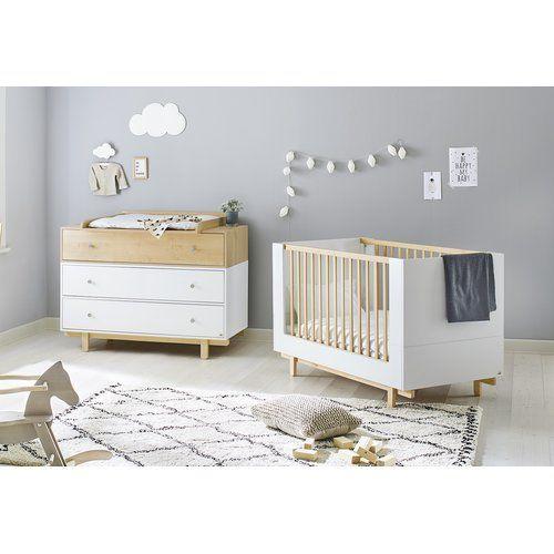 Boks 2 Piece Cot Set Pinolino Nursery Room Furniture Toddler