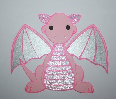 cute dragon. Not in pink, obviously. :)