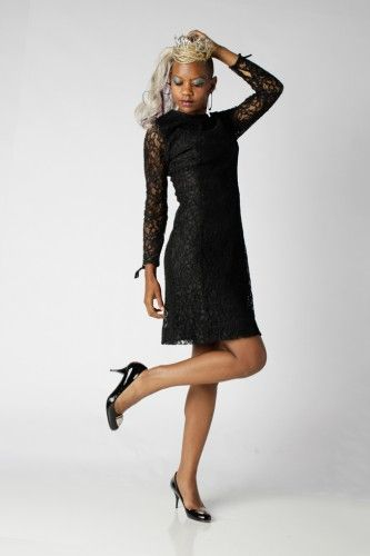 Vintage Couture at it's finest. French Chantilly Lace Overlay! www.shopcdlc.com