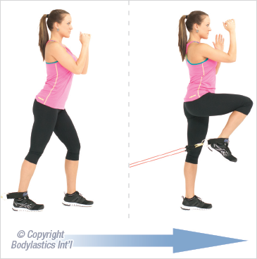Postures that maintain sustained hip flexion for example sitting can result  in a shortening of the hip flexors over time. Cycling accentuates this by  ...