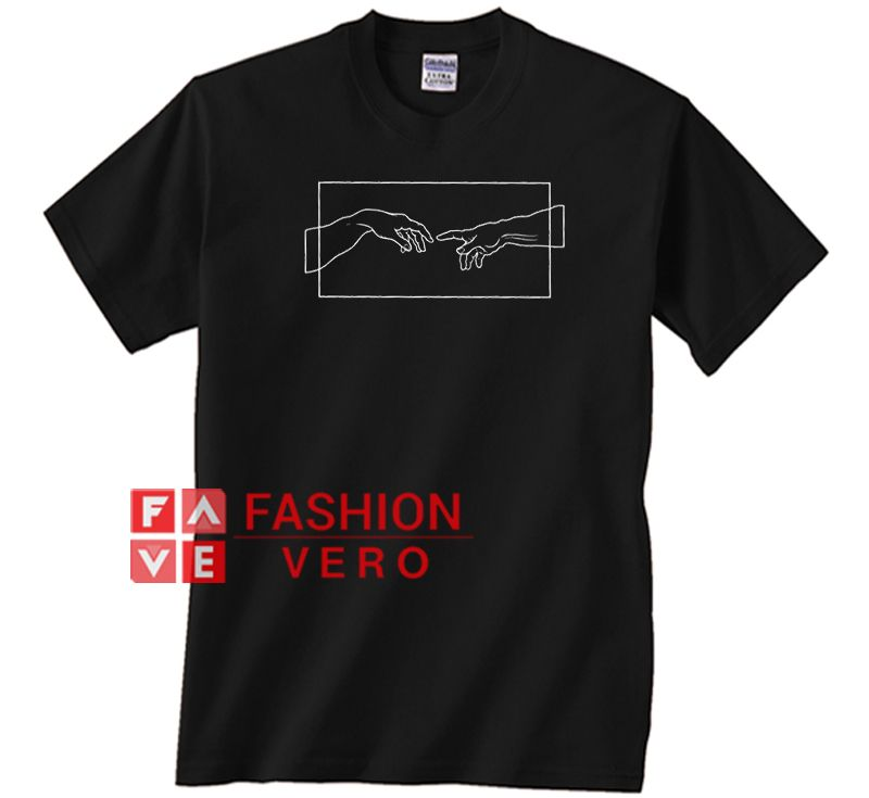Aesthetic Creation Hands Unisex adult T shirt (With images ...