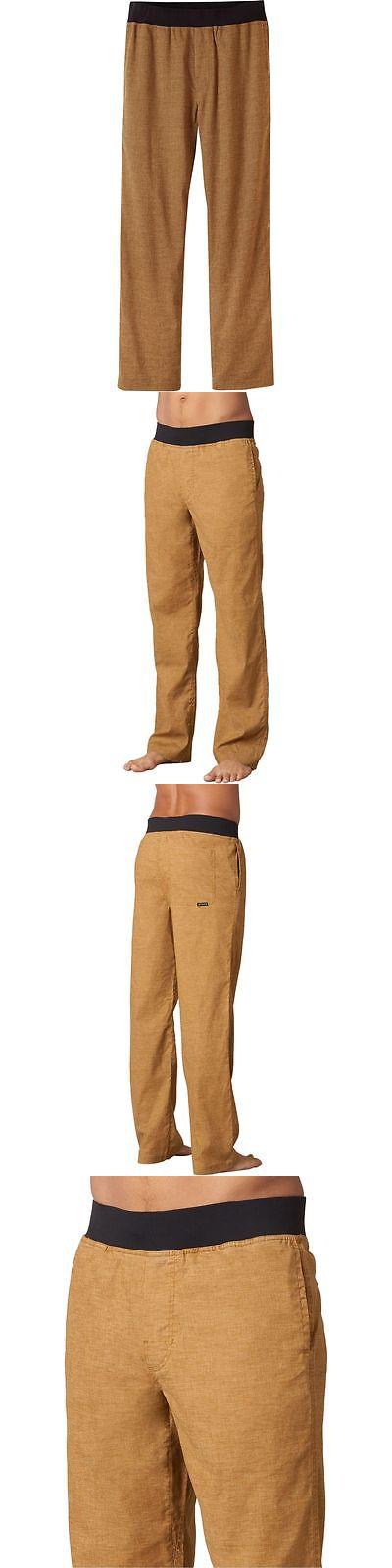 Clothing 101685: Prana Vaha Pant - Mens Dark Ginger Xl-34 BUY IT NOW ONLY: $78.95