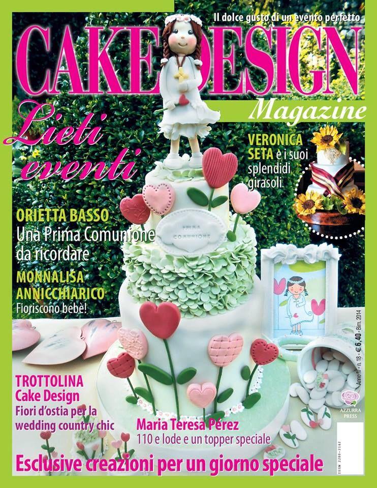 CAKE DESIGN Magazine   Libros de reposteria, Decoracion de ...