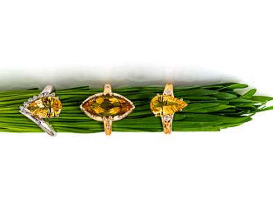 Stunning piece from Alberto's Yellow Beryl Collection! #YellowBeryl #Alberto #Rings #Gold #Jewelry #Nature