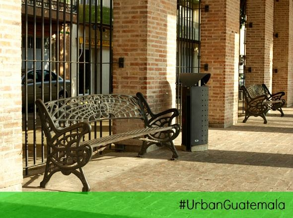 #UrbanGuatemala #BenitoUrban #MobiliarioUrbano #Bancas