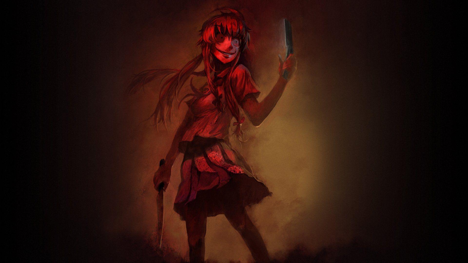 Mirai Nikki Wallpaper Dead End Minitokyo
