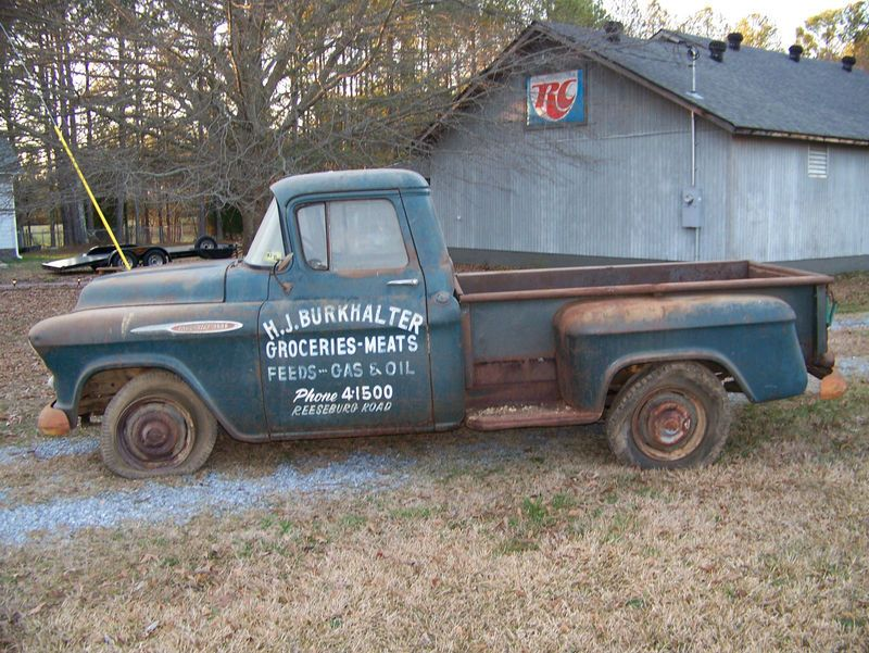 I\'d love to pick up an old beater pickup and clearcoat over the ...
