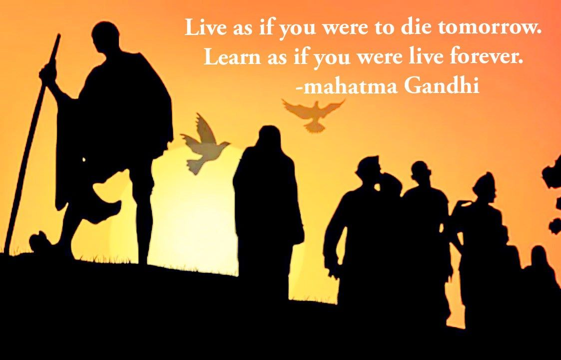 Happy Gandhi Ji Jayanti Special Photos With Quotes Download Now