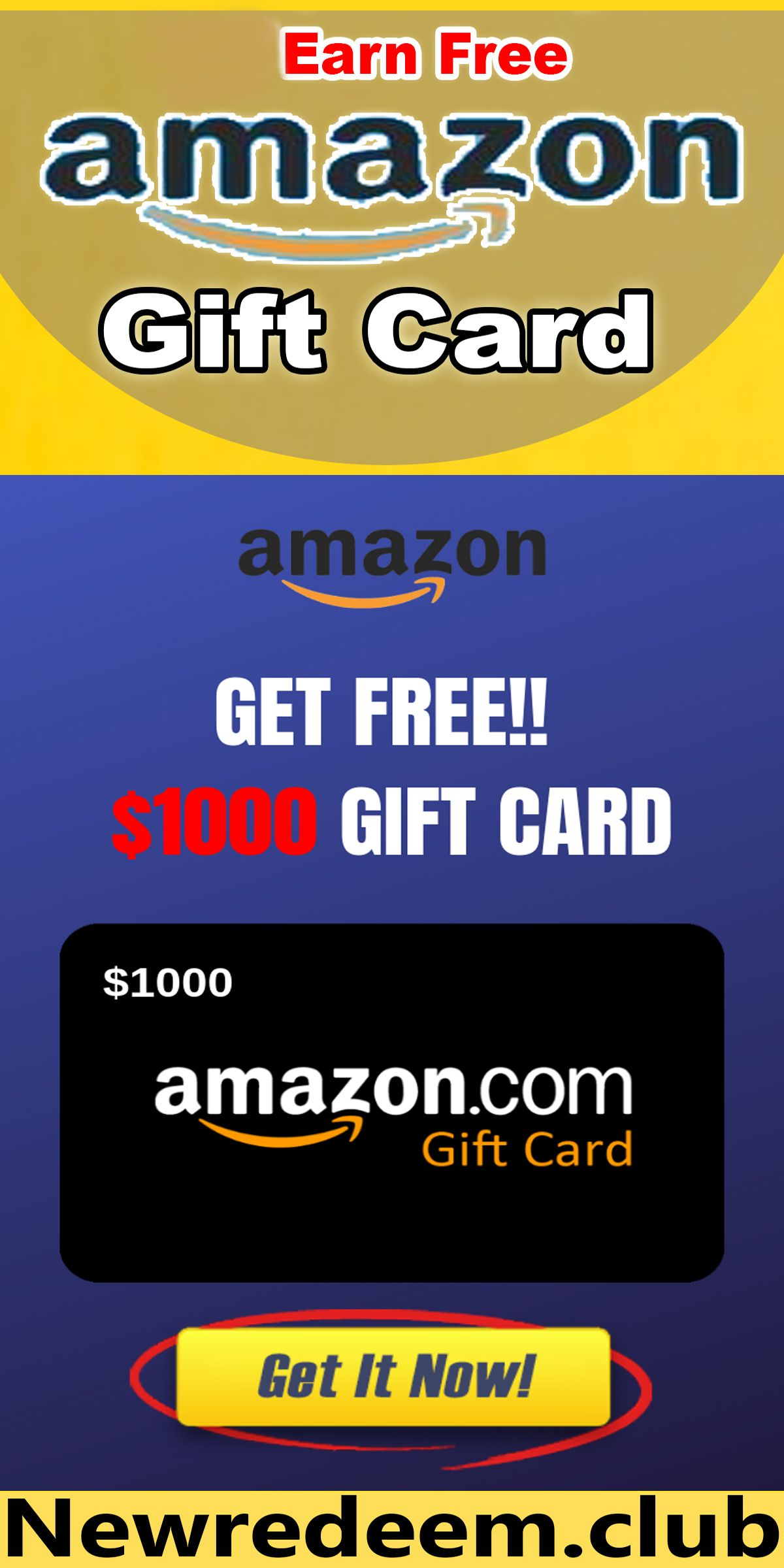 100 Lucky Winners On 2020 Easy Way To Earn Free Amazon Gift Cards Check Out This Easy Way To Get In 2020 Amazon Gift Card Free Free Amazon Products Amazon Gifts