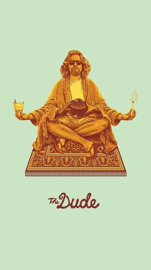 The Dude Wallpaper Iphone Wallpaper My Inspiration In 2019