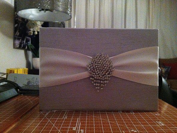 Diy Silk Box Wedding Invitation Invitations And Weddings