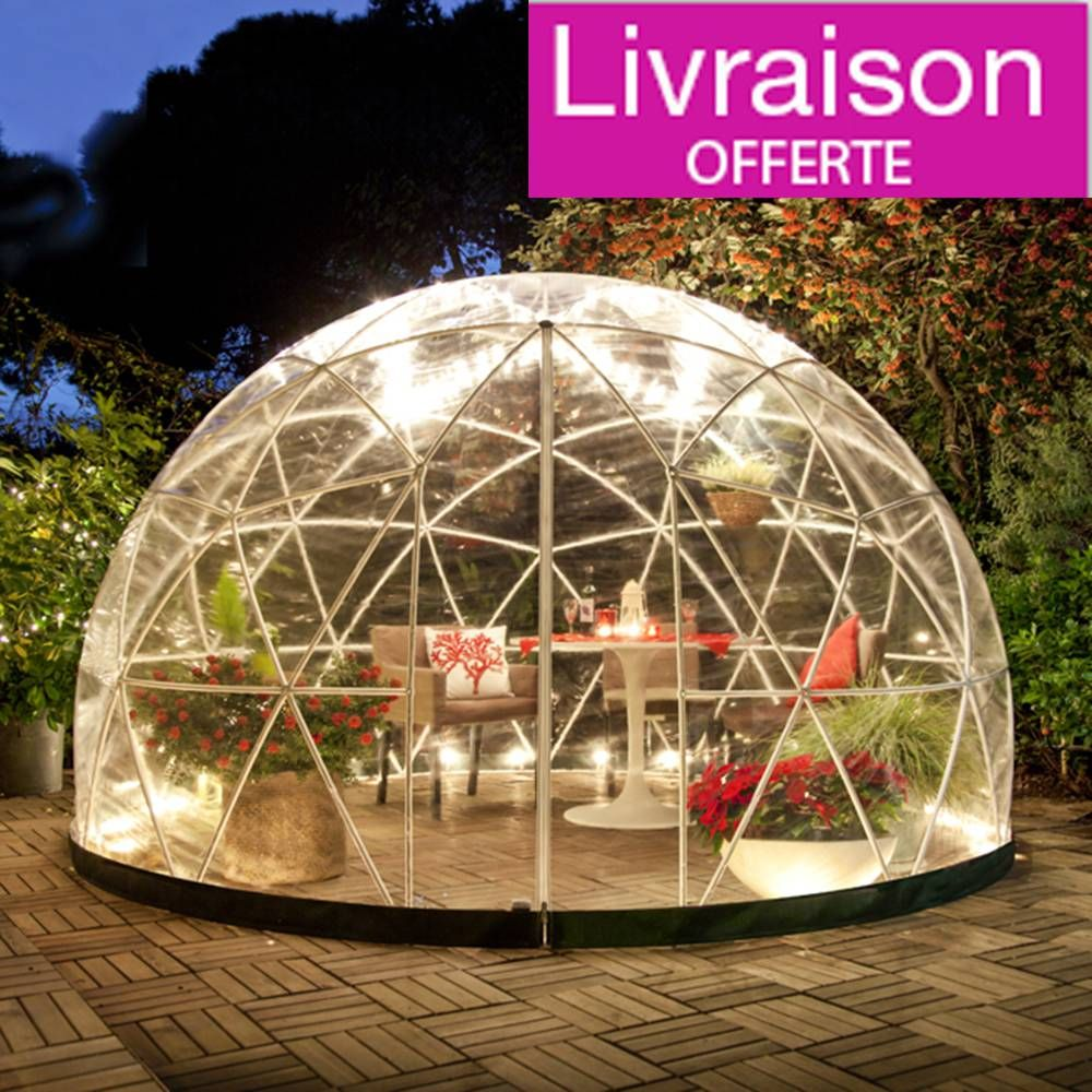 Garden igloo 10m en 2019 jardin de r ve abri de jardin jardins et d co jardin - Igloo de jardin ...