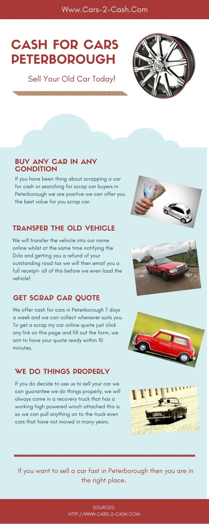 If you have been thing about scrapping a car for cash or
