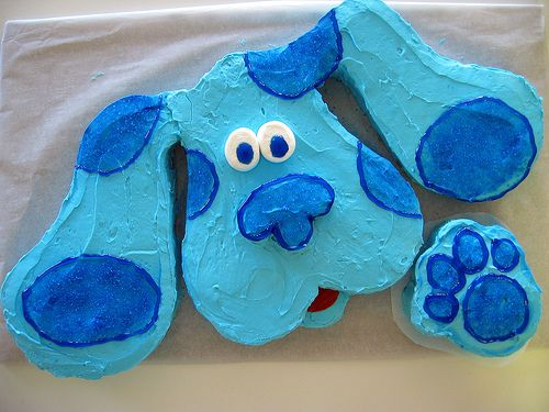 Blue S Clues Cake Blues Clues Clue Party Blue Birthday