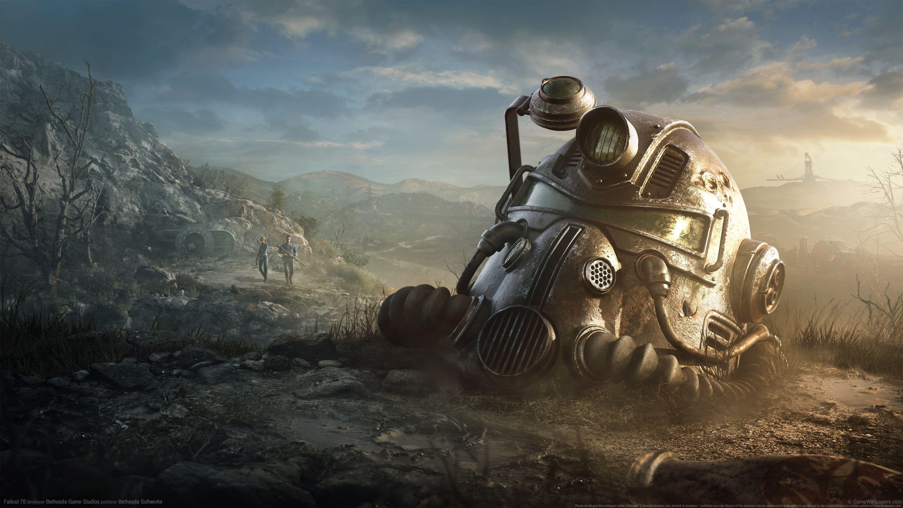 Video Games Fallout Fallout 76 4k Wallpaper Hdwallpaper Desktop Keys Art Poster Prints Fallout