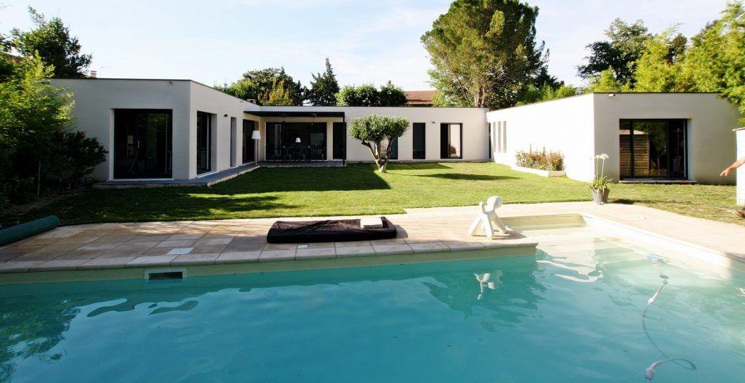 Avignon Les Villas Modernes Maison Moderne Plain Pied Modele Maison Maison Moderne