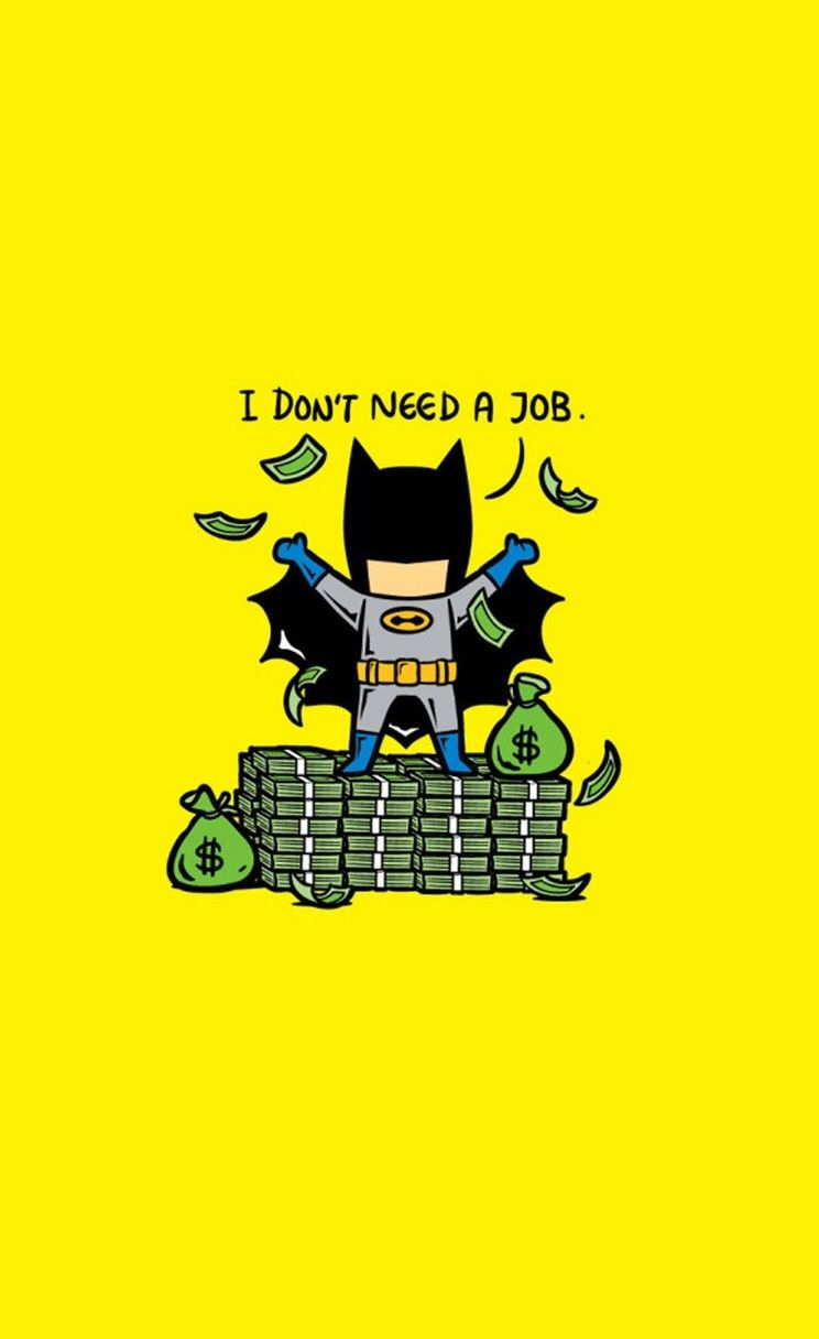 Batman funny Superheroes iPhone wallpapers mobile9