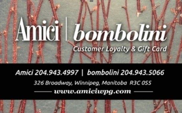 Bombolini winnipeg