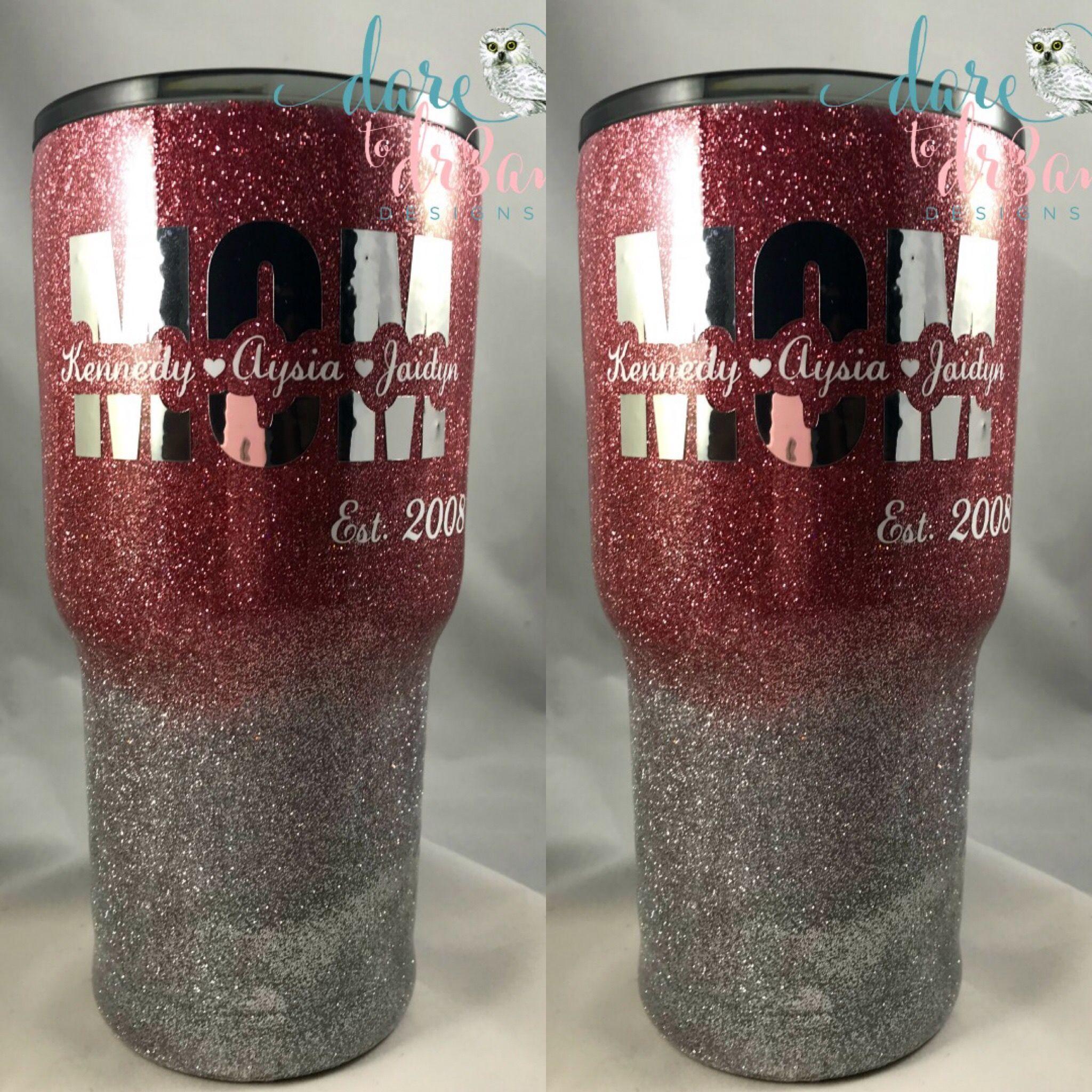 Glitter Tumbler Blessed Mama Glittered Tumbler Stainless Steel,Personalized Gifts,Teacher Gift,Custom Tumbler,Gifts for Her
