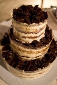 Tiramisu Wedding Cake Probably the only way I could have a cake